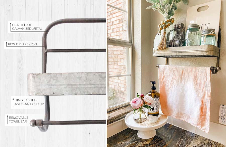 Cookhouse Towel Rack, , large image number 2